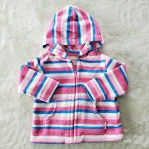 Children's Place Pink Zip up Hoodie Sz 24 M